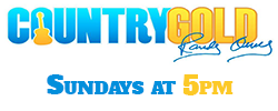 Country Gold. Sundays at 5PM!