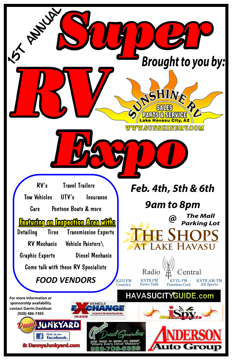 RV Expo Poster