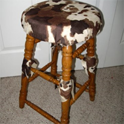 Moo Stool by Dian Gibson